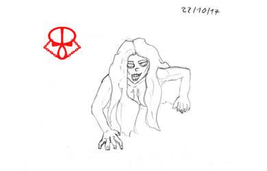 Dia 21 Zombie by Erynus