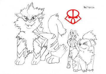 Dia 25 Entrenador Pokemon by Erynus