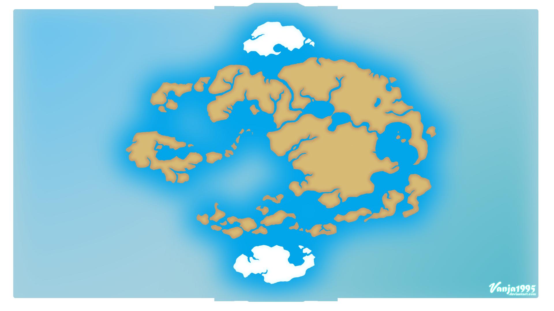 Avatar World Map by Vanja1995 on DeviantArt