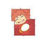 Pixel Ponyo by Vanja1995
