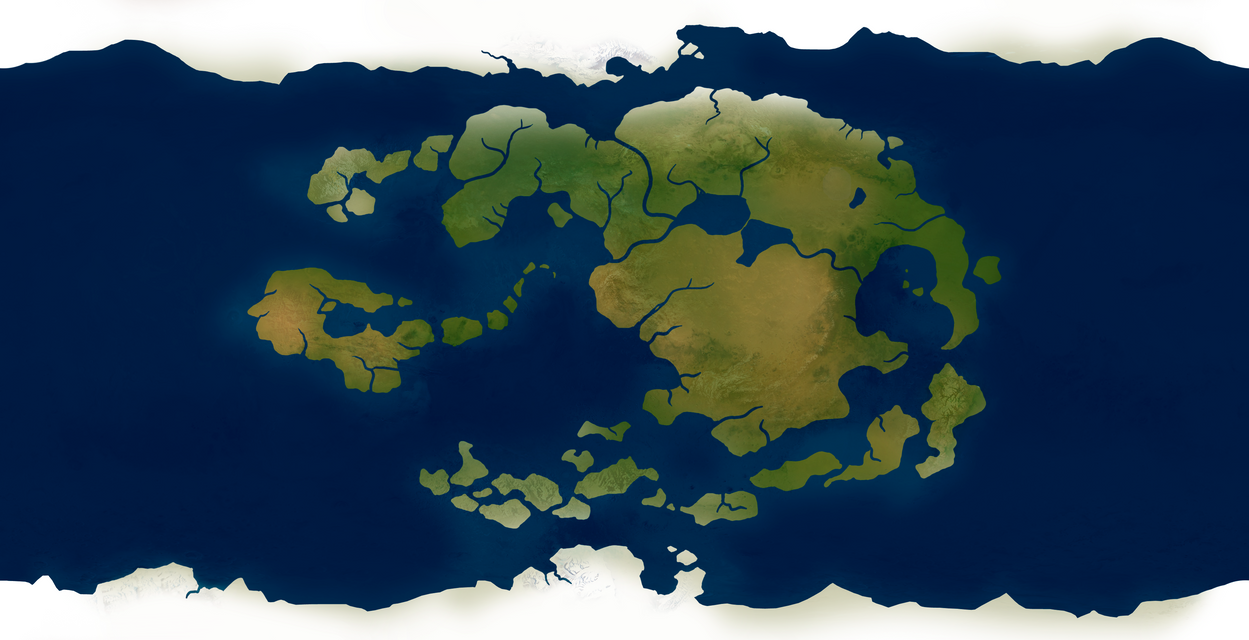 Avatar World Map - Realistic by Vanja1995