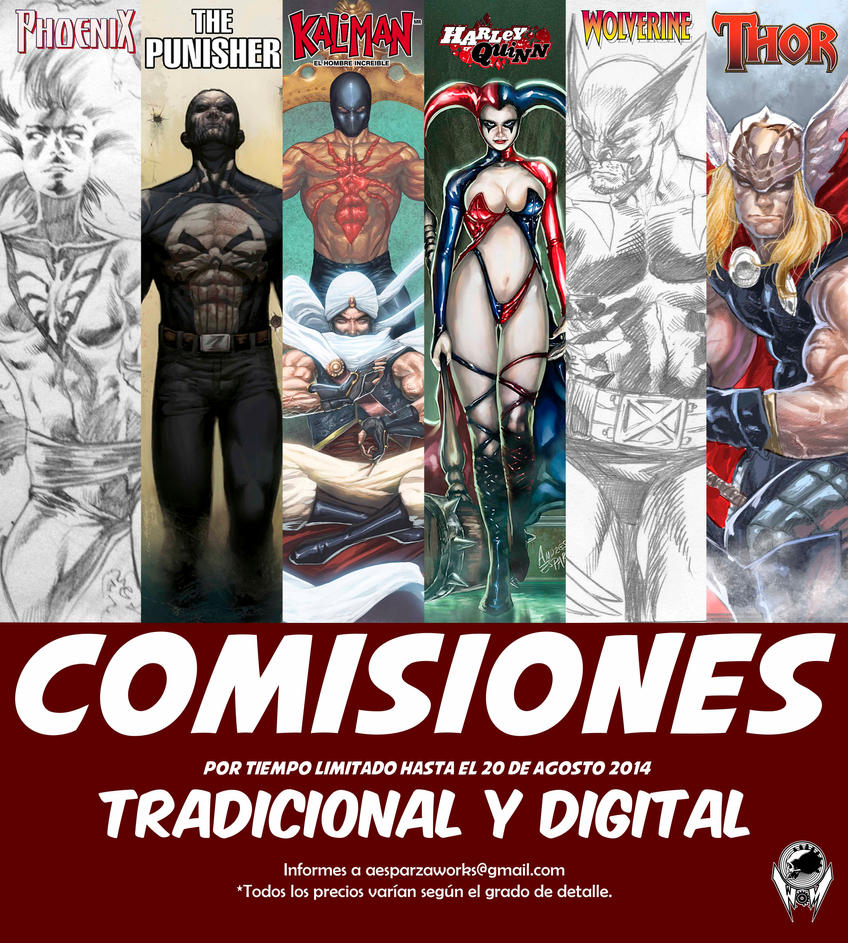 Comisiones promo by acidkoolaid