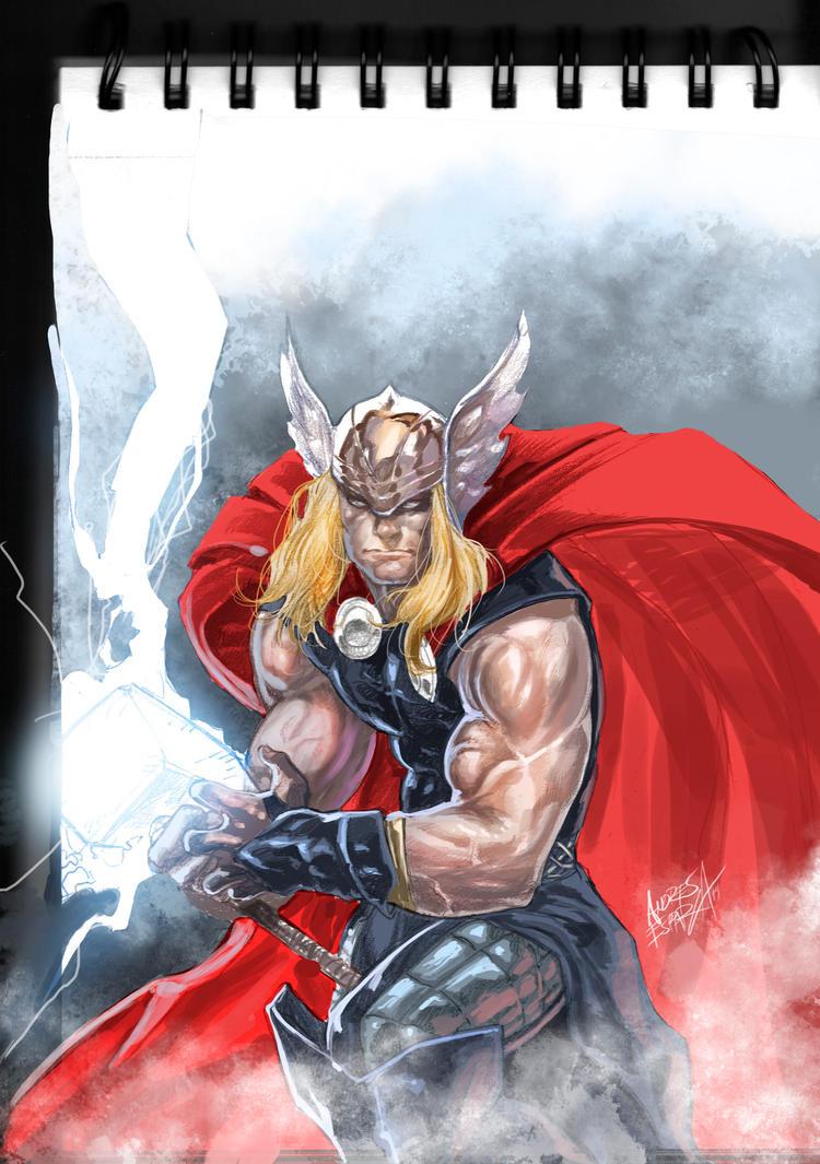 Thor by acidkoolaid