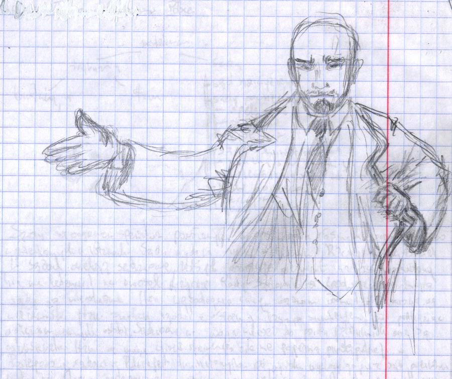 Lenin by sfxdx