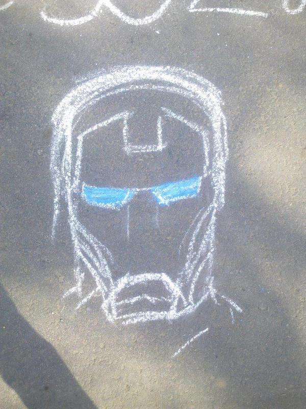 i tried to draw Iron Man by sfxdx