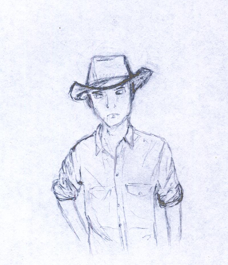 cowboy look by sfxdx