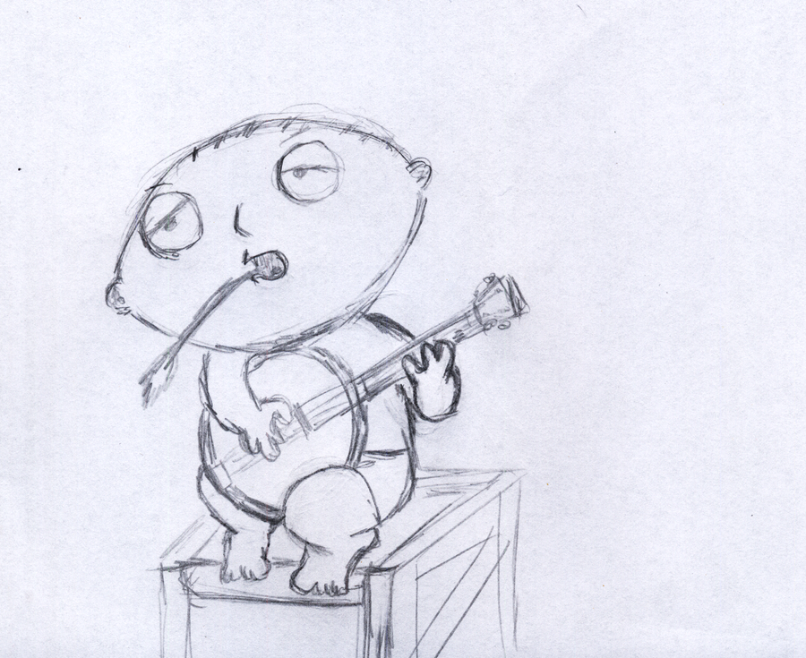 banjo stewie by sfxdx
