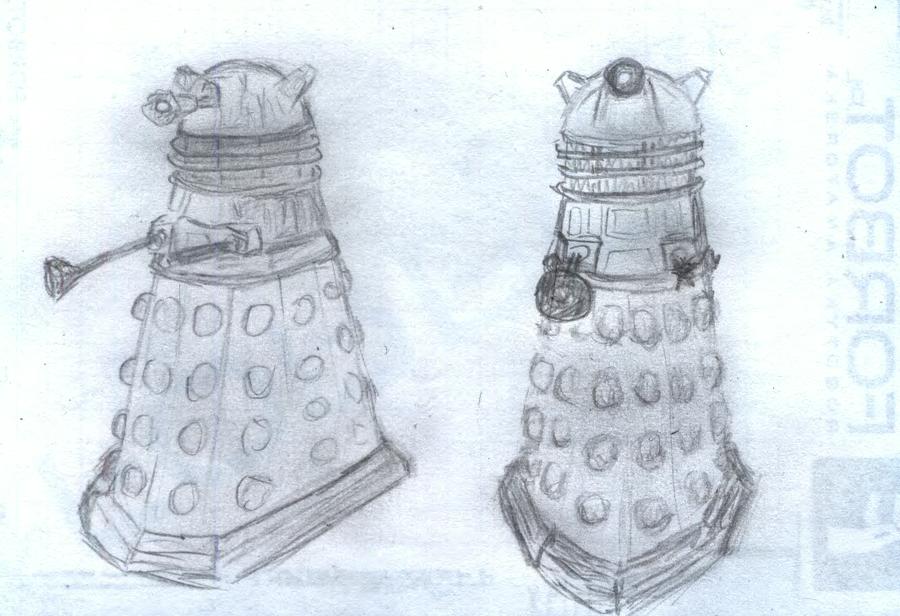 I love Daleks by sfxdx