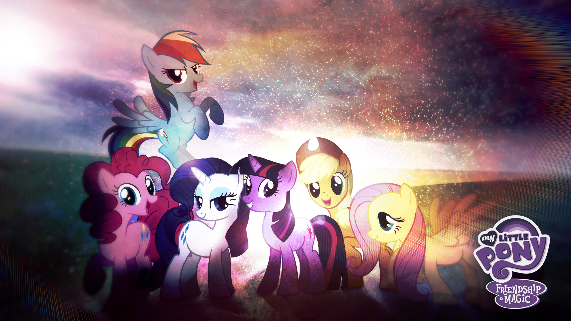 My Little Pony Friendship Is Magic Wallpaper Hd By Jackardy On