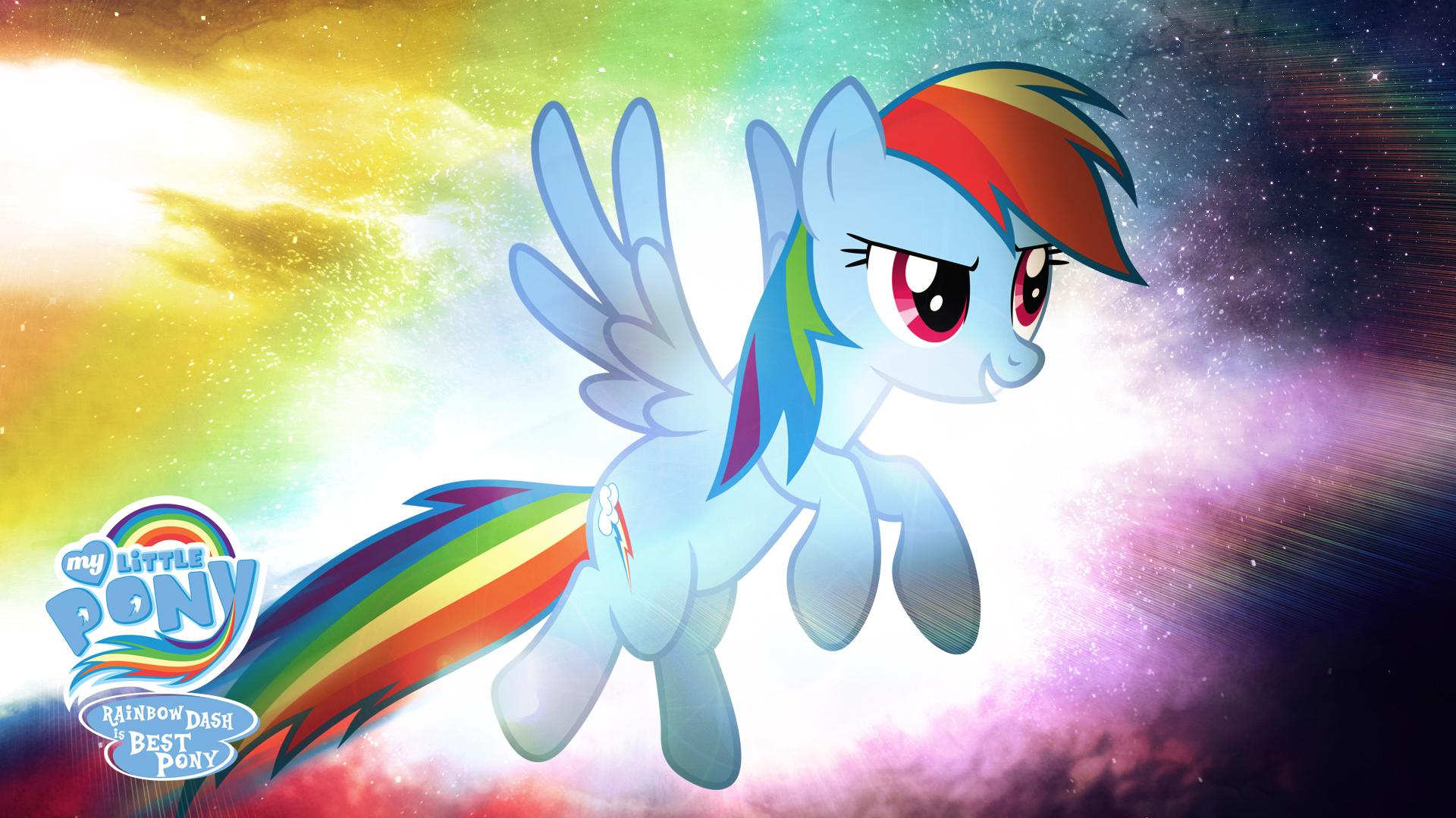 Rainbow Dash Is Best Pony Hd Wallpaper By Jackardy On Deviantart