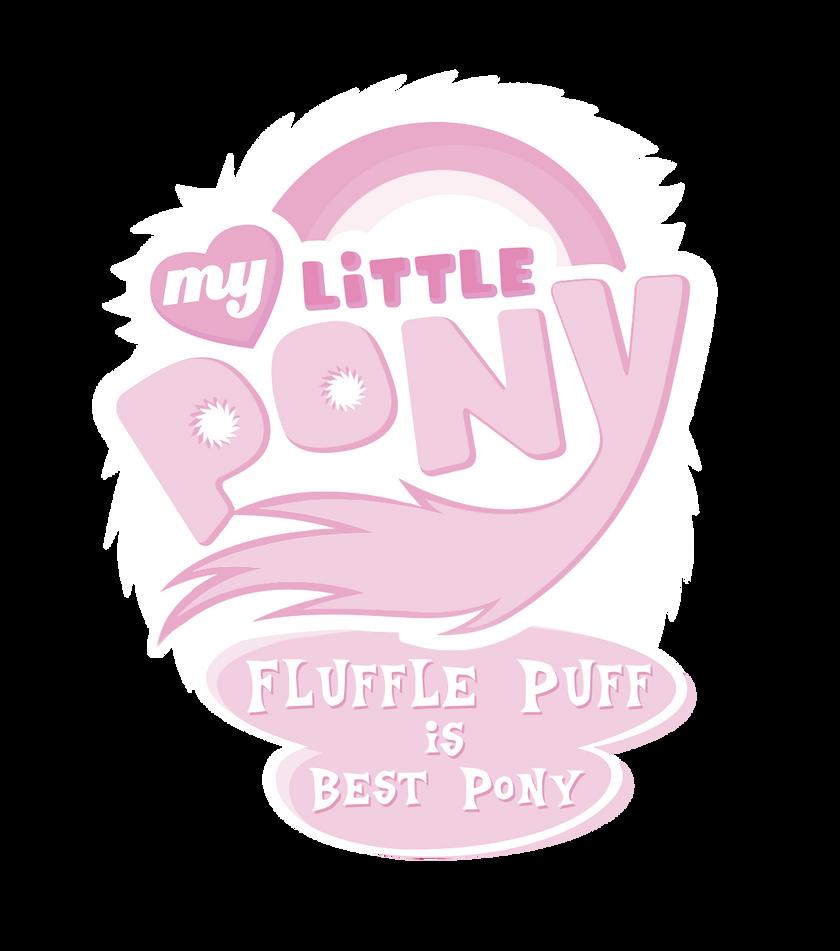 Fluffle Puff is Best Pony Logo by Jackardy