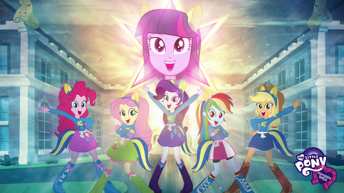 my little pony - equestria girls hd wallpaperjackardy on deviantart