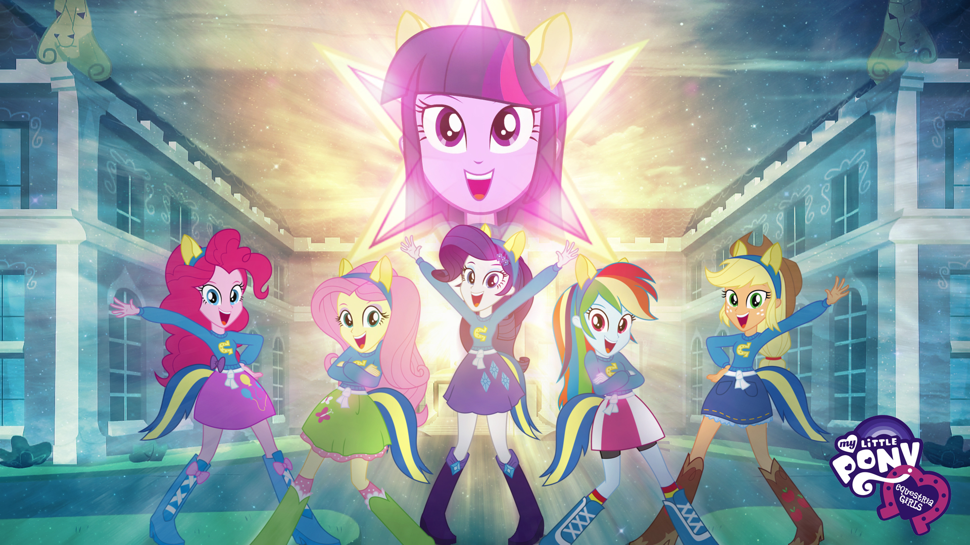 My Little Pony Equestria Girls Hd Wallpaper By Jackardy On