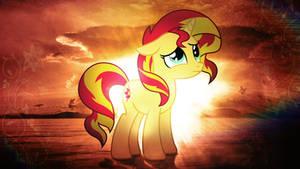 Sunset Shimmer HD Wallpaper