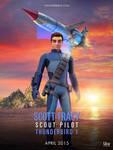 Thunderbird Are Go - 1 - Scott Tracy - Poster