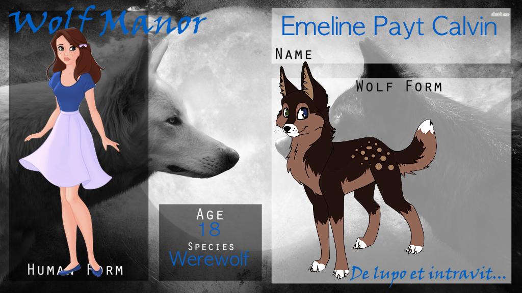|| WOGM Application || Emeline Payt Calvin || by Marclenia