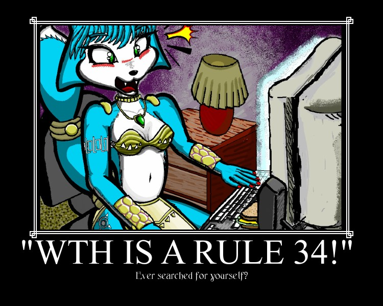 Demotivational rule 34 by theonlypj