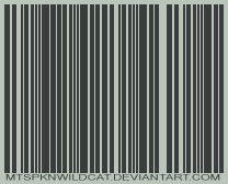 dA Bar Code by mtspknwildcat