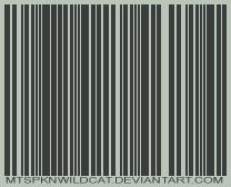 dA Bar Code by mtspknwildcat