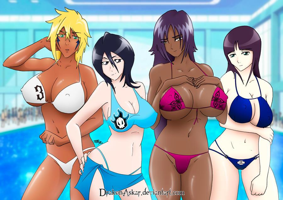 Bikini Bleach by DrakonAskar