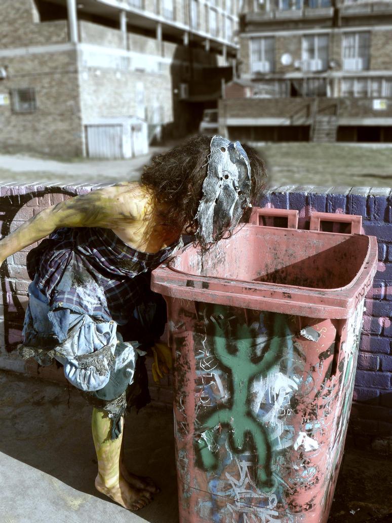 WtW: Dumpster Girl 4 by xBrokenxChildx