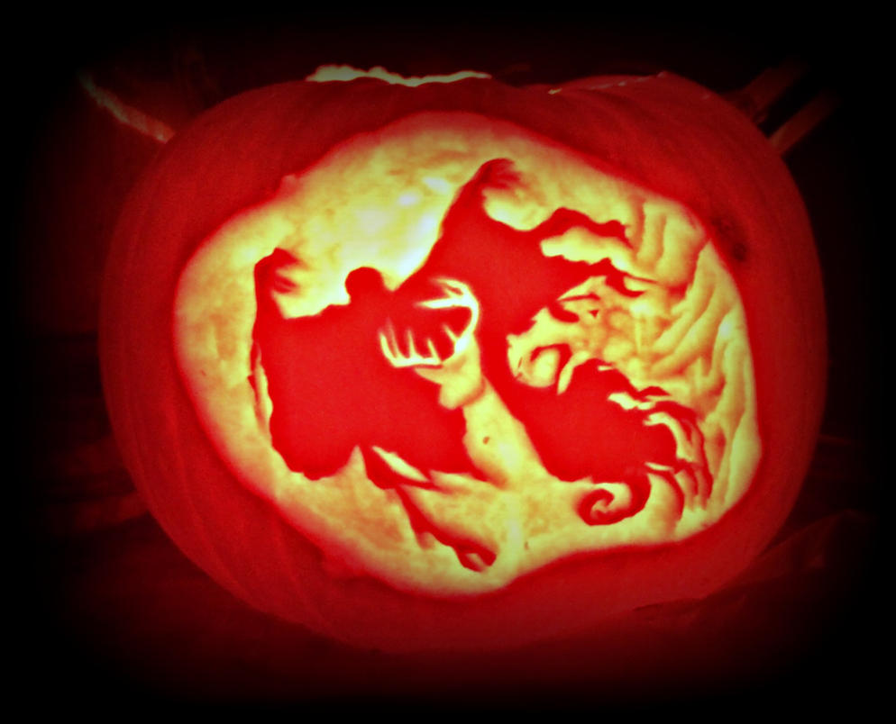 Halloween Patronus by xBrokenxChildx