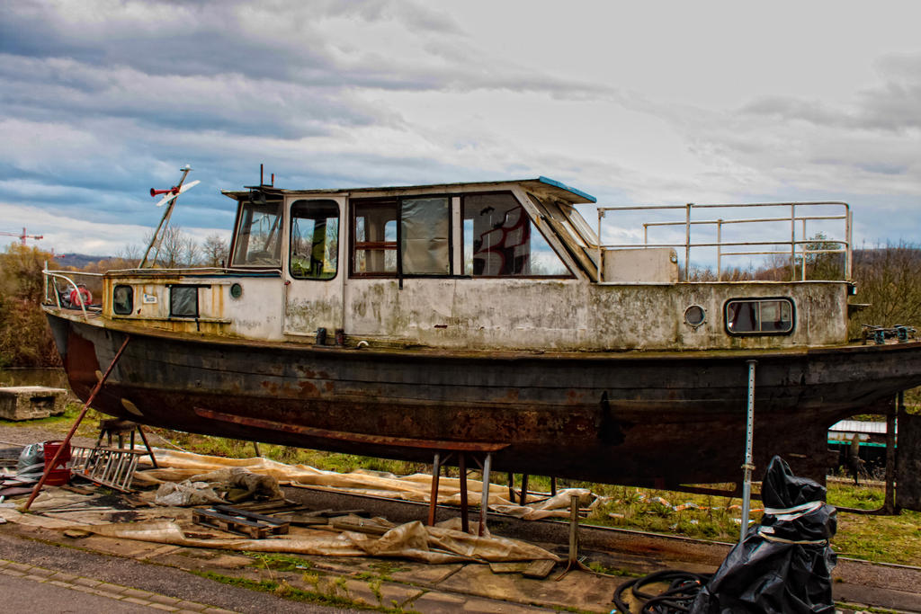 Old boat by kellik mort on deviantart for What to do with an old boat