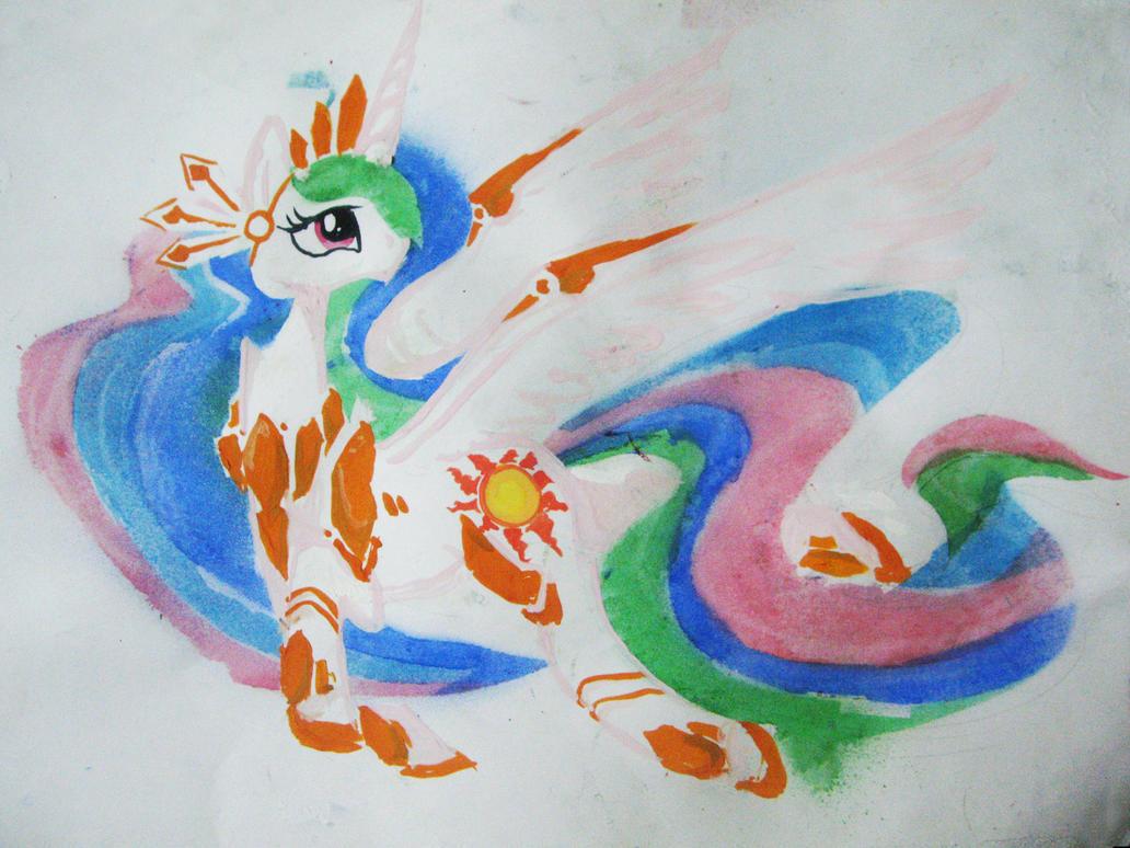 Lady Celestia by Sugarcube-Owl