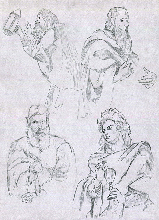 2016 06-01 Peter Paul Rubens Sketches by meatfortress