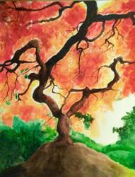 Autumn tree by Unifloof