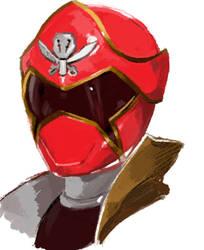 Gokai Red by Malicious-Alice