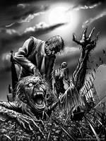 Zombie by artofneff