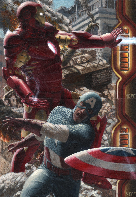 Avengers by artofneff