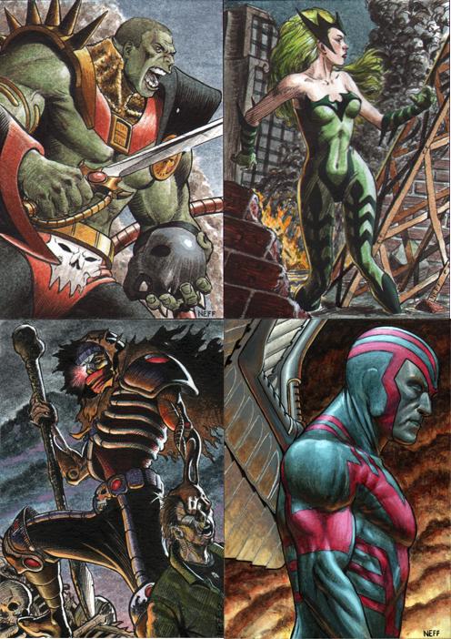 The Four Horsemen Of The Apocalypse by artofneff