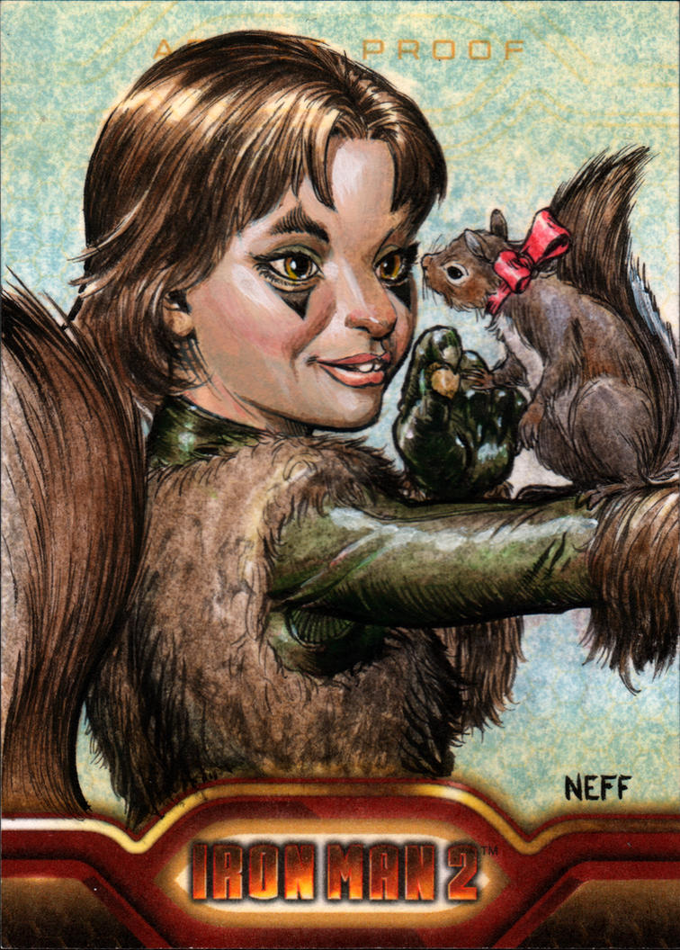 Squirrel Girl by artofneff