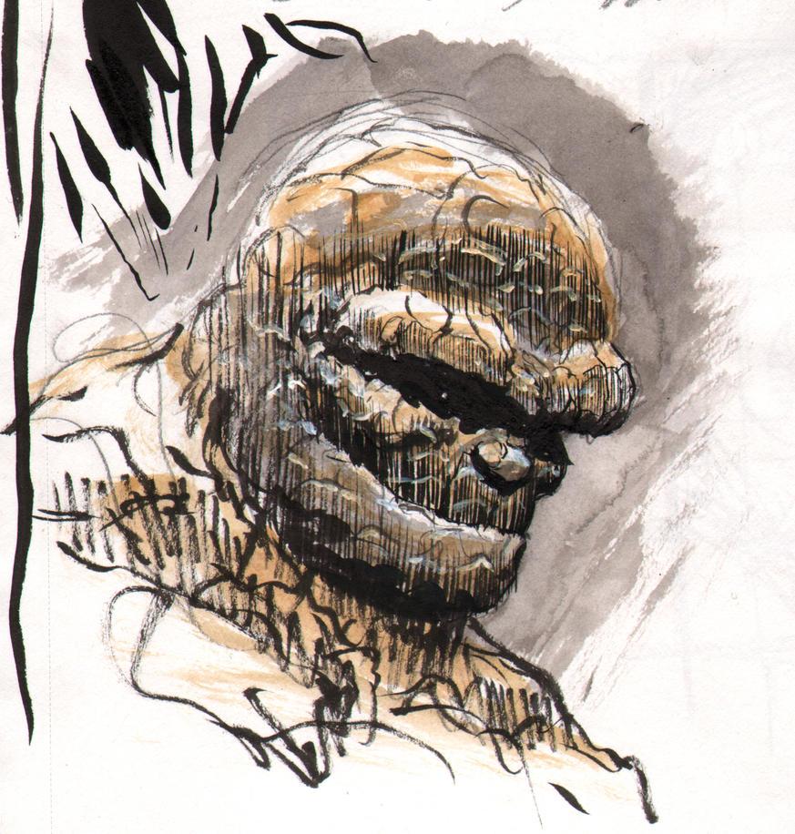 F4 Thing Sketch by artofneff