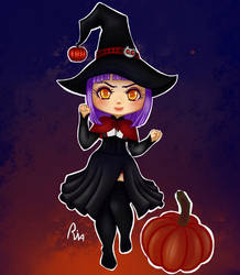 [OPEN AUCTION] Chibi Witch