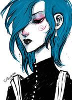 FanArt_Hemlock by BlackBirdInk