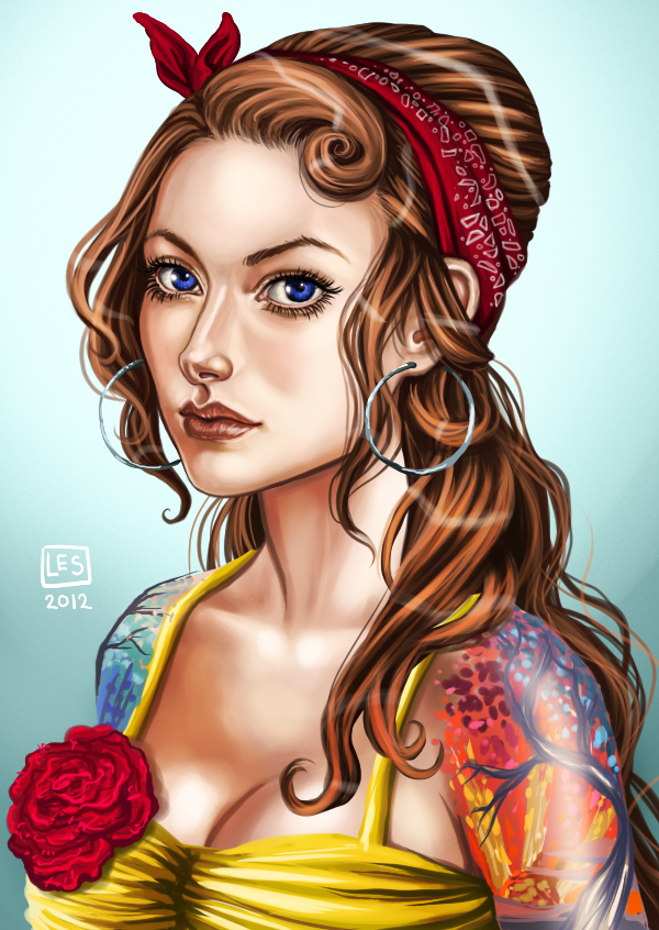 Commission_ Zoey by BlackBirdInk