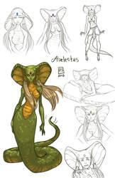 Sketch Page_Abelestas by BlackBirdInk