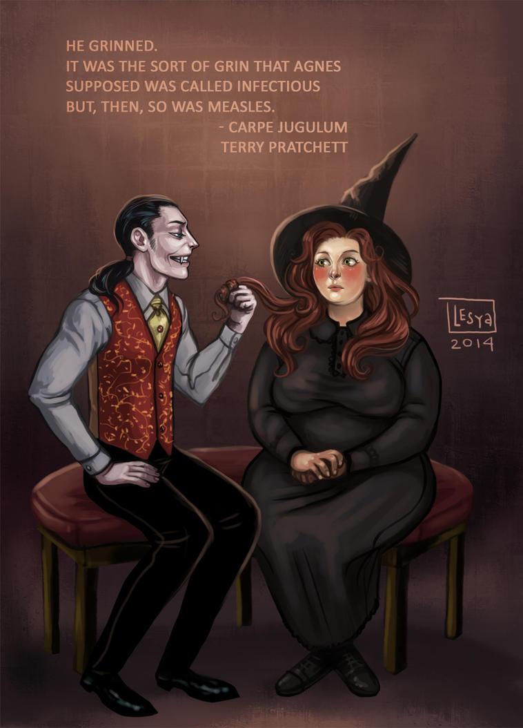 Fan art_Vlad and Agnes by BlackBirdInk