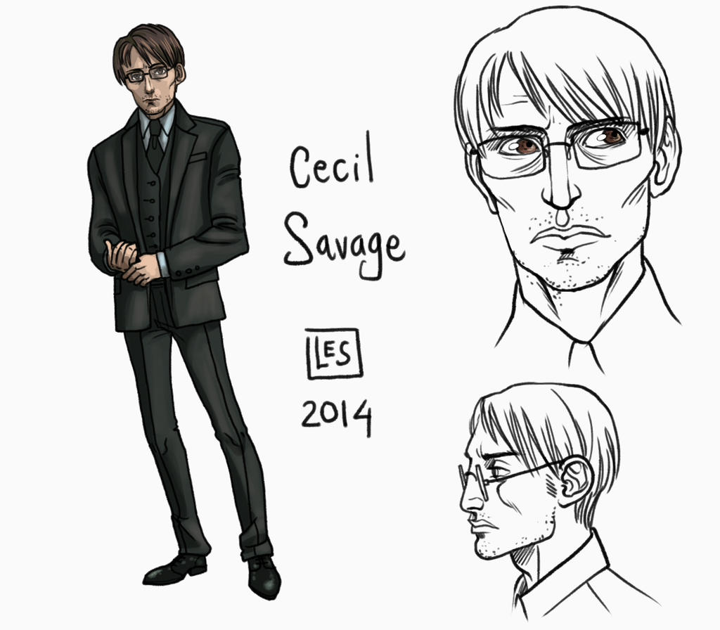 Small Reff-sheet_Cecil Savage by BlackBirdInk