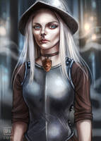 Discworld_Angua by BlackBirdInk
