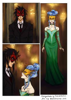 At the Masquerade
