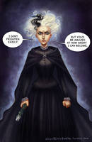 Hogfather_Susan Sto Helit by BlackBirdInk