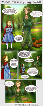 Witches Abroad_The little girl in the red cloak
