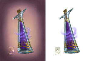 Small Items_potion vial 2 by BlackBirdInk
