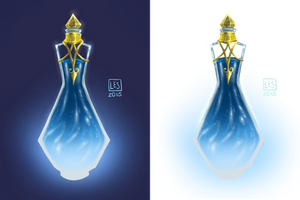 Small Items_potion vial 3 by BlackBirdInk