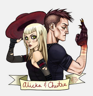 Alicka and Chester