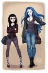 Zuzana and Karou